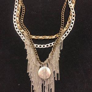 Metal Statement Necklace